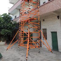 LEADER FRP Fiberglass Mobile Scaffold Tower